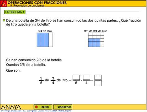 ccnn 2010 2 186 eso 2 186 eso recomendaciones b 193 sicas para matem 225 ticas 3 186 e s o problemas interactivos de fracciones