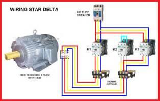 delta motor connection diagram