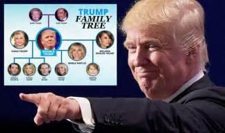 trump family photos donald trump family who are ivanka melania tiffany