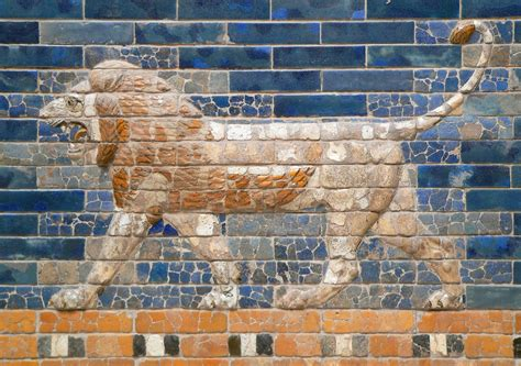 le porte di babilonia berlin pergamon museum babilonia porta di ishtar p