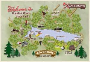 Ohio State Parks Map by Ohio State Park Lodges Hueston Woods Lodge Amp Conference