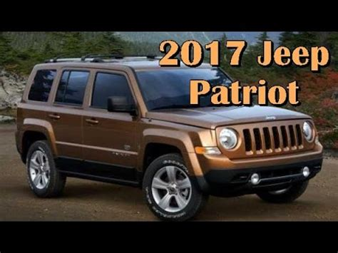 2017 jeep patriot black 2017 jeep patriot picture gallery youtube