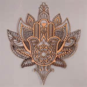 Hamsa Lotus Hamsa With Lotus Tattoos Mandalas