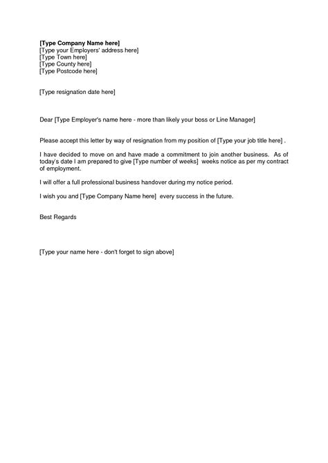 Resignation Letter Change Resignation Letter Format Awesome Resignation Letter Effective Date Last Day Basic Easy