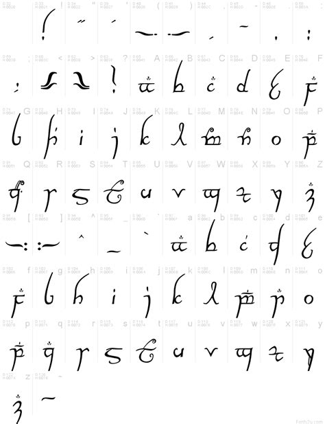 tattoo fonts elvish beautiful elvish script elvish
