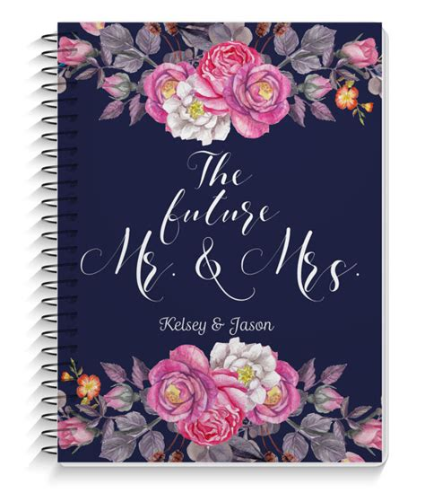 Wedding Planner Book Cover Page wedding planner wedding planning book personalized cover