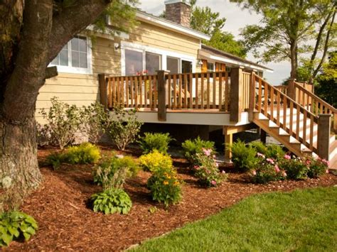 Landscape Structures And Decks Landscaping And Deck