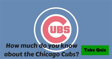 names for chicago cubs fans chicago cubs trivia