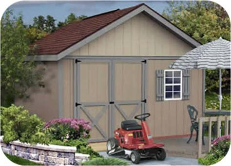 brandon  wood storage shed kit