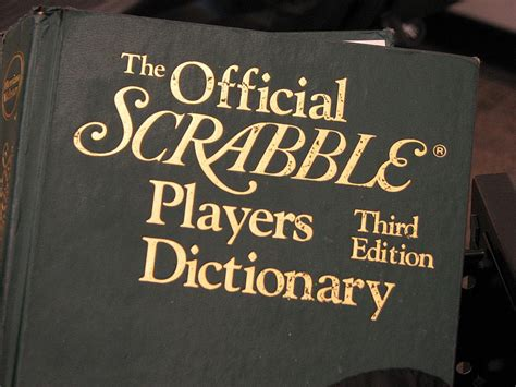 4th edition scrabble dictionary what is the official scrabble dictionary