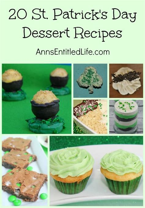easy s day dessert recipes 17 best images about st patricks day ideas on