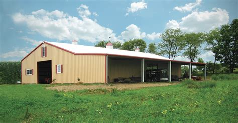 Agricultural Shed Kits by Agricultural Steel Buildings Metal Farm Buildings Pole