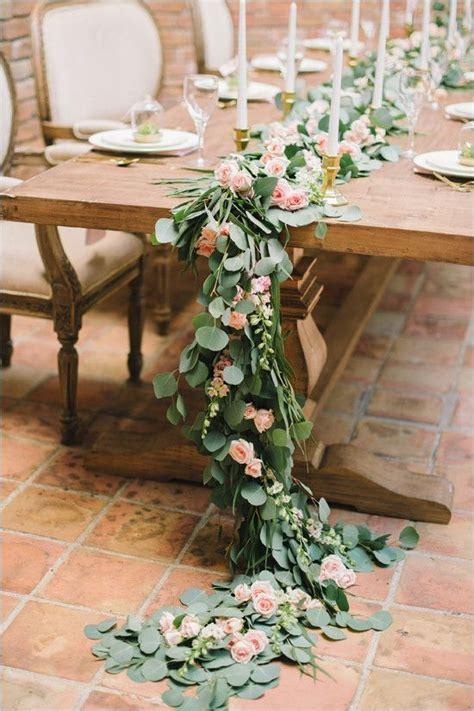 best 25 table garland ideas on pinterest wedding table