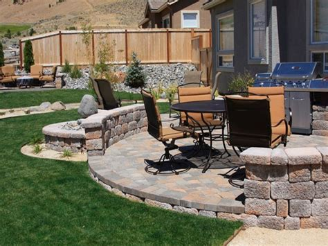 patio landscaping designs paver patio landscaping ideas