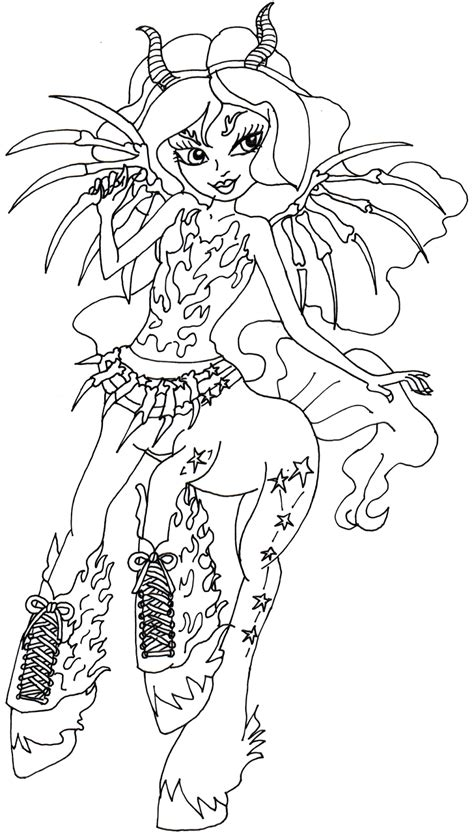 free printable monster high coloring pages october 2015 free printable monster high coloring pages november 2015