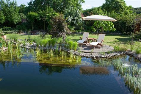 Garten Mit Schwimmteich garten mit schwimmteich in potsdam berliner g 228 rten