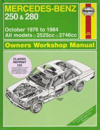 free download parts manuals 1984 mercedes benz e class auto manual 1976 1984 mercedes benz 250 280 haynes repair manual