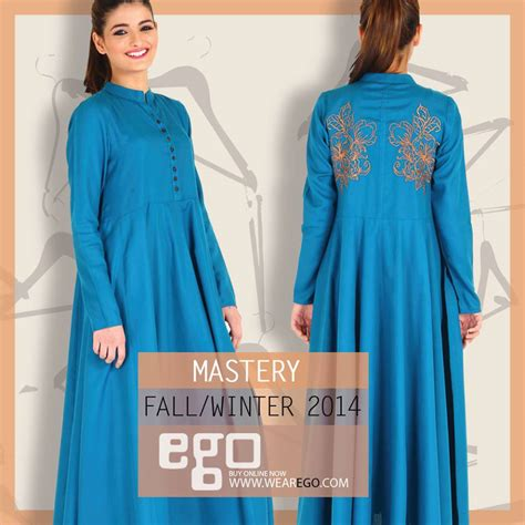 dress design winter pakistan ego fall winter collection stylish dress designs 2015 2016