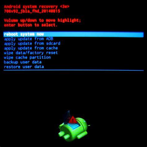 android recovery mode no command android recovery no command