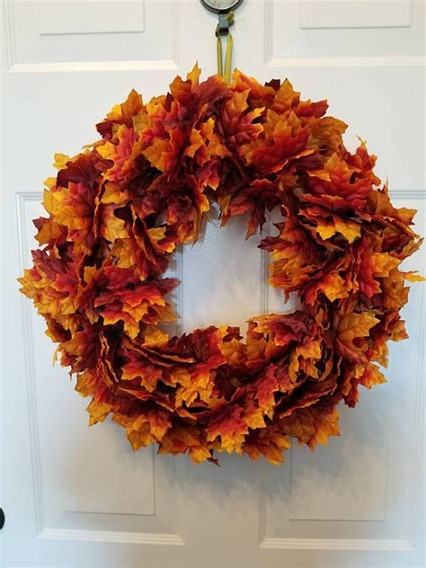 Handmade Fall Wreaths - 15 fantastic handmade fall wreath designs that will bring