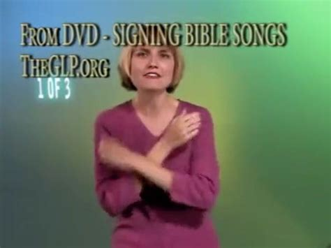 michael row the boat ashore bible signing bible songs part 1 introduction for babies or