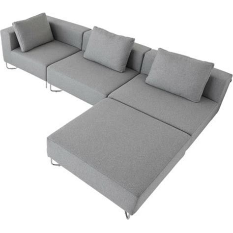 sofa mit hocker ecksofa mit hocker 28 moderne designs