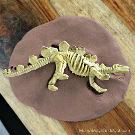fossil crafts for dinosaur crafts diy fossil kit and favors