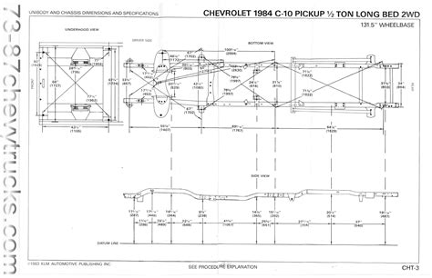 s10 bed size chevy s10 frame dimensions pictures to pin on pinterest