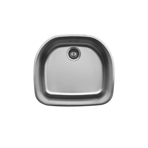 d shaped undermount stainless steel sink karran u 2321 stainless steel equal bowl undermount