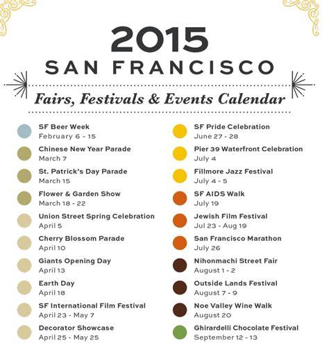 San Francisco Events Calendar San Francisco Event Calendar Calendar Template 2016