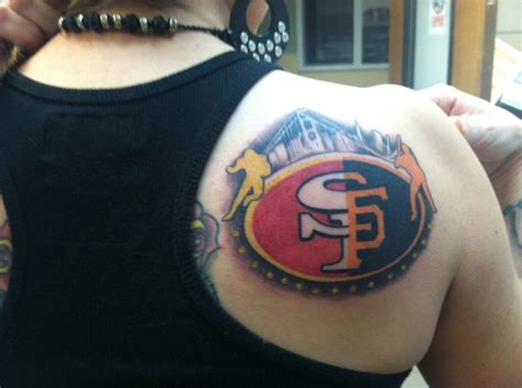 49ers tattoos sf 49ers sf giants who s got it better than us