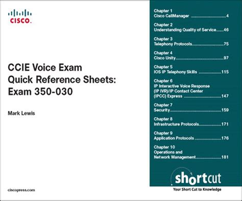 free ccna voice training videos voicecertscom ccie ccie voice exam quick reference sheets exam 350 030