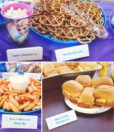 10 disney s frozen themed birthday party food ideas creative house