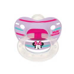 Pink High Chairs Minnie Mouse 2 Pack Orthodontic Pacifiers From Nuk