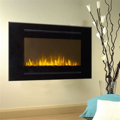 Touchstone Fireplace by Touchstone Forte 40 Inch Wall Mounted Recessed Electric