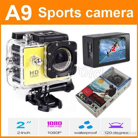 Sports Hd 1080p Waterproof 30m a9 waterproof sports 720p hd diving