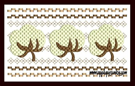 bol l design cotton boll embroidery ausbeta
