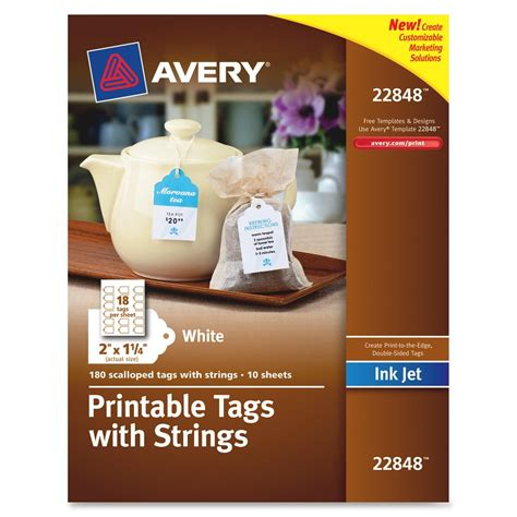 avery printable fabric reviews inkjet printable tags with strings ld products
