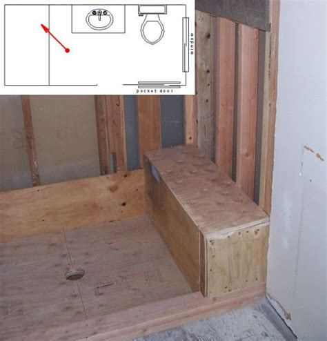 how to build a bench in a shower how to frame a corner acrylic shower bathroom
