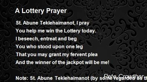 Prayers To Win Money - what saint to pray to win the lottery coaching courses jobs for life coaches in