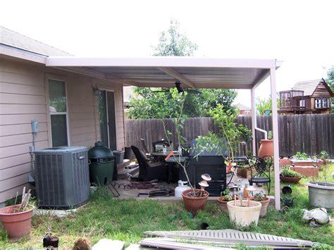 Simple Custom Patio Cover NorthWest San Antonio   Carport