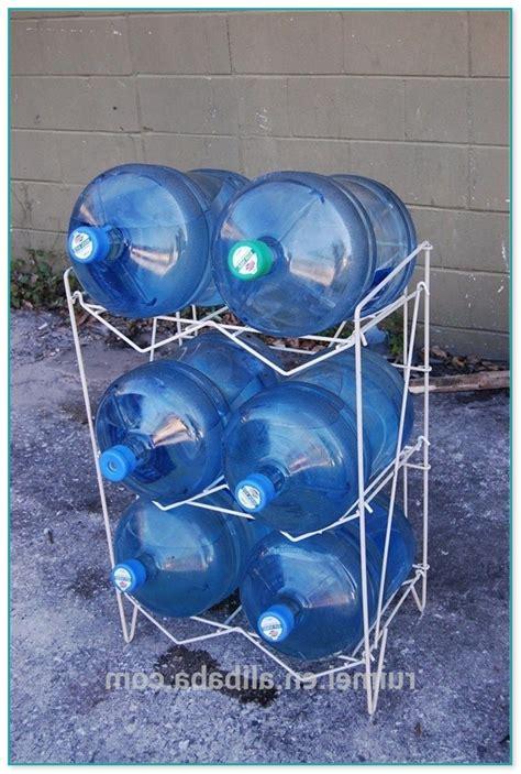 diy water bottle stand diy 5 gallon water jug rack