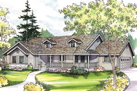 country home plans with front porch