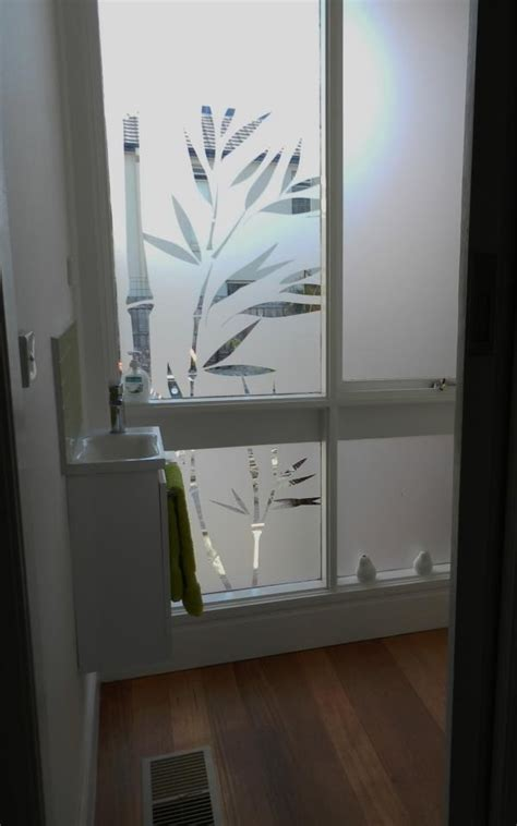 bathroom film frosted bathroom film bamboo design frosted windows