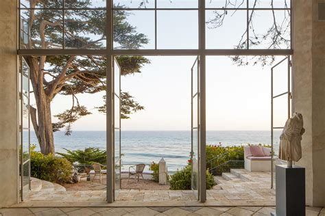 window with a view decordemon richard shapiro s villa in malibu