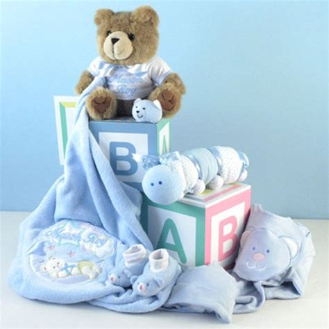 Gifts For Babies - newborn baby boy gift set
