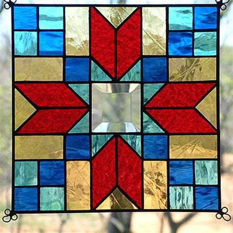 quilt pattern stained glass new 9 quot stained glass quilt pattern panel suncatcher 913 ebay