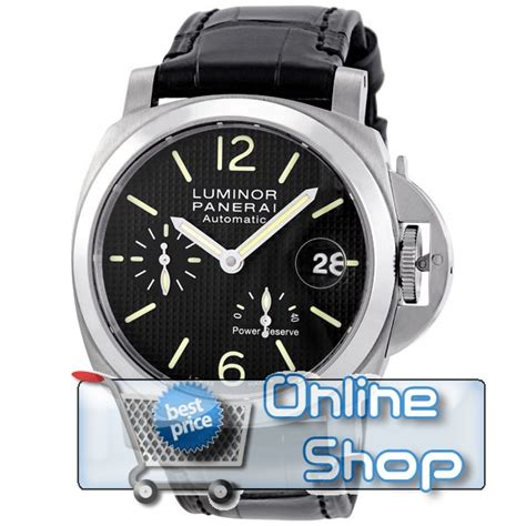 Panerai Luminor Power Reserve Blk For the replica panerai luminor power reserve for