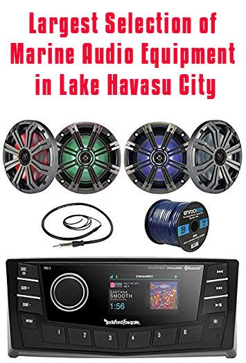 car stereo boat stereo lake havasu city az cartronics - Boat Stereo Havasu