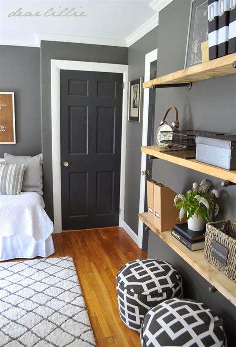 Grey Bedroom Doors Similar Color Scheme In My Home Gray Walls White